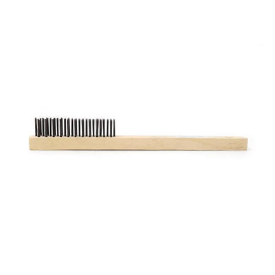 Custom Metal Wire Brush With Wood Handle