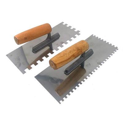 Stainless Steel Plastering Trowel With Wood Handle